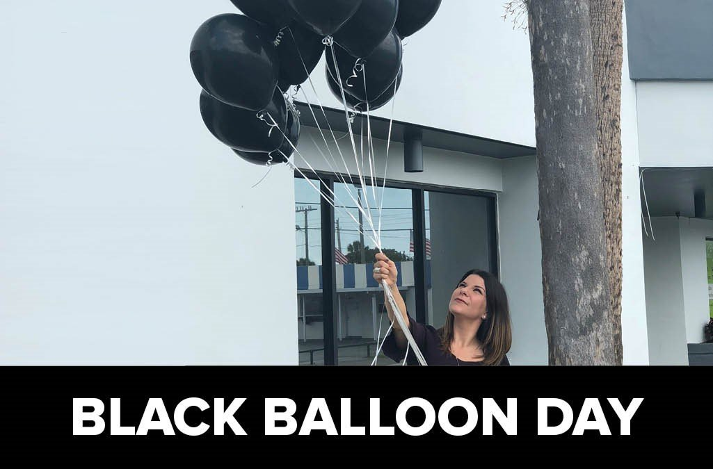 Black Balloon Day - GateHouse Sober Community